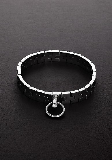"""Watchband Collar with Lock (17"""")"""